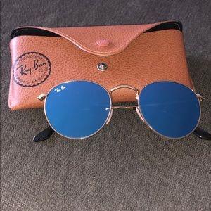 Ray bran - reflective blue lens - BRAND NEW